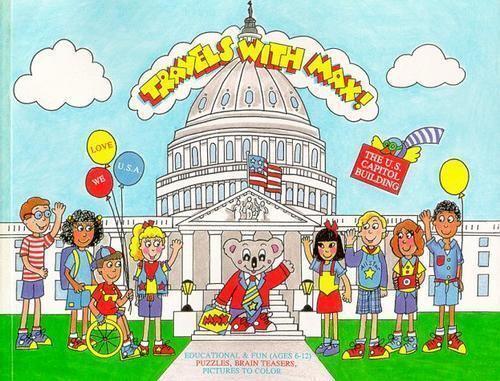 The U.S. Capitol Building by Nancy Ann Van Wie