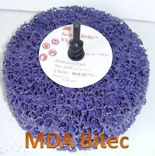 "3M Clean & Strip XT Purple Disc Roloc+ 100mm x 13mm 4"" Wheel"