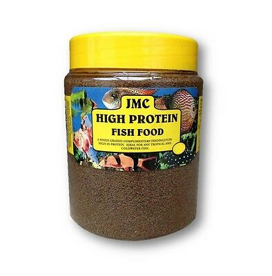 JMC HIGH PROTEIN FOOD - 700G - FOR COLD WATER TROPICAL AQUARIUM FISH FOOD PELLET