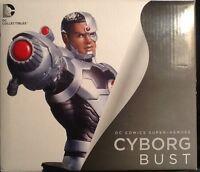 Dc Comics The 52 Cyborg Bust Mint Dc Direct