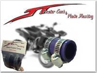 (purple) Yamaha Blaster High Temp Exhaust Clamp Yfs 200 1id Dirtbike Purple Atv