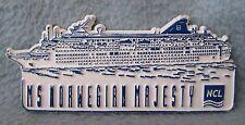 MS Norwegian Majesty Cruise Ship Rubber Magnet, Souvenir, Travel, Refrigerator