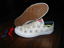 CONVERSE CTAS II OX 151162C Stars Shoes Size 10.5 US 44.5 EUR Red/Blue/Natural