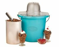 Nostalgia Electrics Qt Ice Cream Maker Machine Automatic Churning Frozen Yogurt on sale