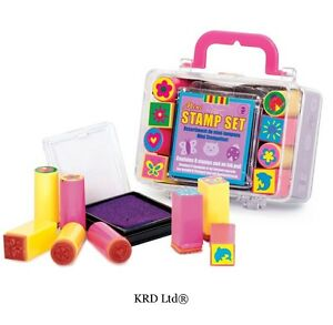 Image Is Loading Kids Mini Stamp Set 1 INK PAD 8