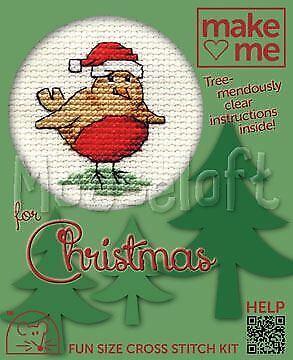 Mouseloft Make Me for Christmas Collection Cross Stitch Kits