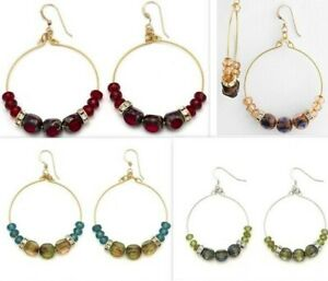 Alex-and-Ani-Energy-EDEN-Hoop-Earrings-Rare-Bark-Crimson-Fern-Lichen-38