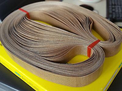50pcs//lot 810mm x 15mm teflon belt for FR-900 Continuous Band Sealer
