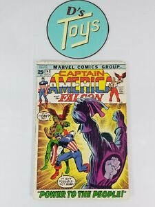 Marvel-Comics-Bronze-Age-Comic-Book-Captain-America-amp-The-Falcon-Vol-1-143-1971