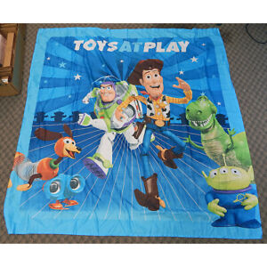 Disney Toy Story 100 Polyester Shower Curtain 70x72 With