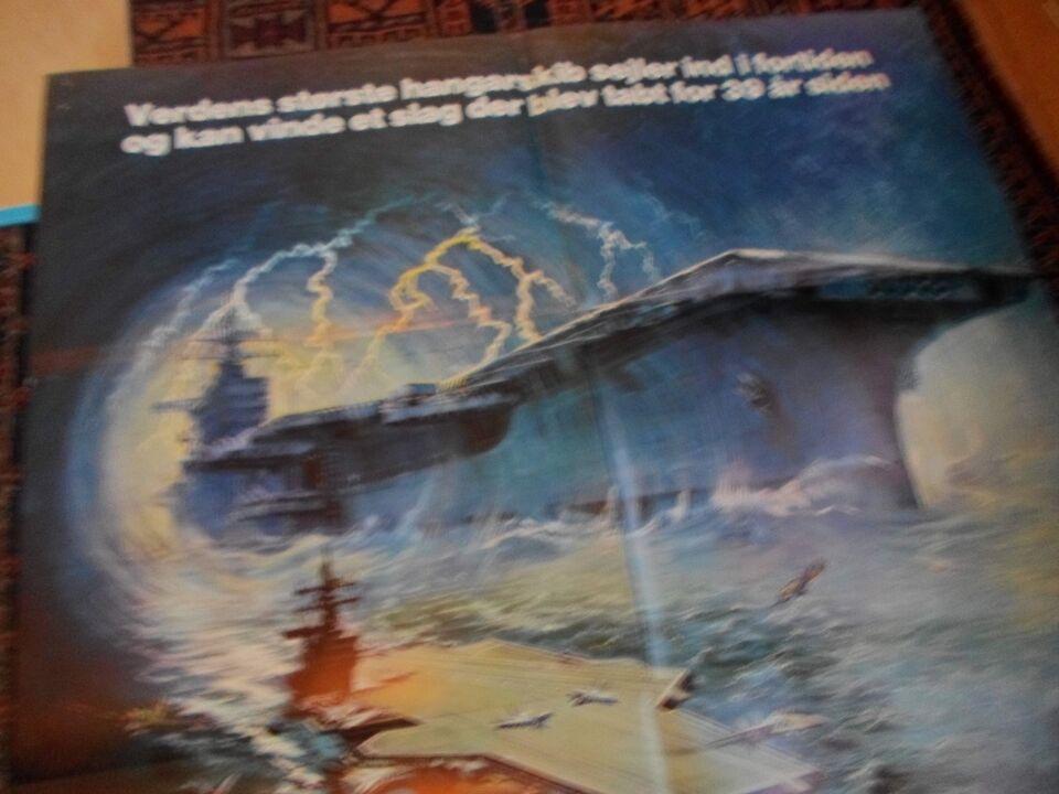Filmplakat, uss Nimitz - forsvundet i stillehavet.