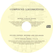 Compound Locomotives (1893) Railway Age and Northwestern Railroader Book on CD