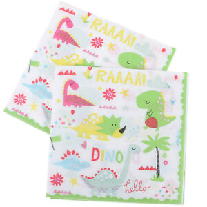 12pcs-Dinosaur-Theme-Paper-Napkins-For-Kids-Birthday-Party-Tissue-Napkin-Deco-qr