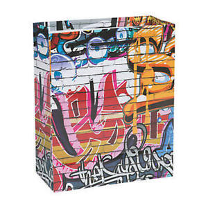 Pack-of-12-Graffiti-Themed-Medium-Gift-Bags-Party-Loot-Bags-Fillers