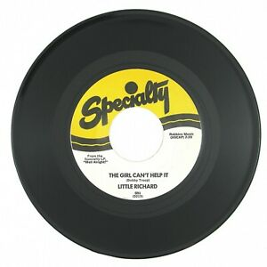 LITTLE RICHARD The Girl Can't Help It/All Around The World 7IN ROCK'N ROLL NM-