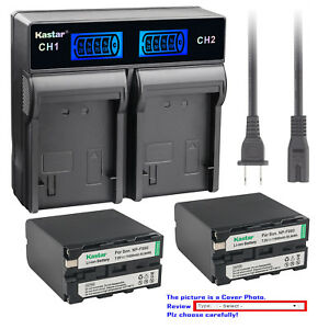 Kastar-LCD-Rapid-Charger-Battery-for-Sony-NPF950-NP-F960-NP-F970-NP-F990-PRO