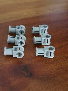 LEGO-Set-6243-6xTechnic-Connector-32039-with-Perpendicular-Axle-Joiner-MdStone