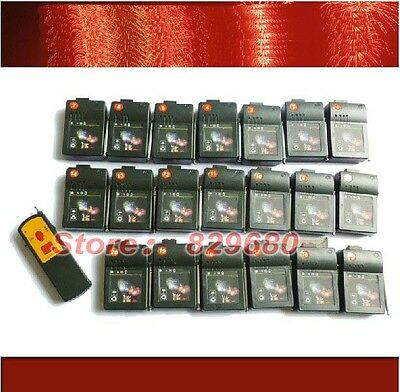 20Cues Digital remote fireworks firing system 300m Smart Switch electric igniter