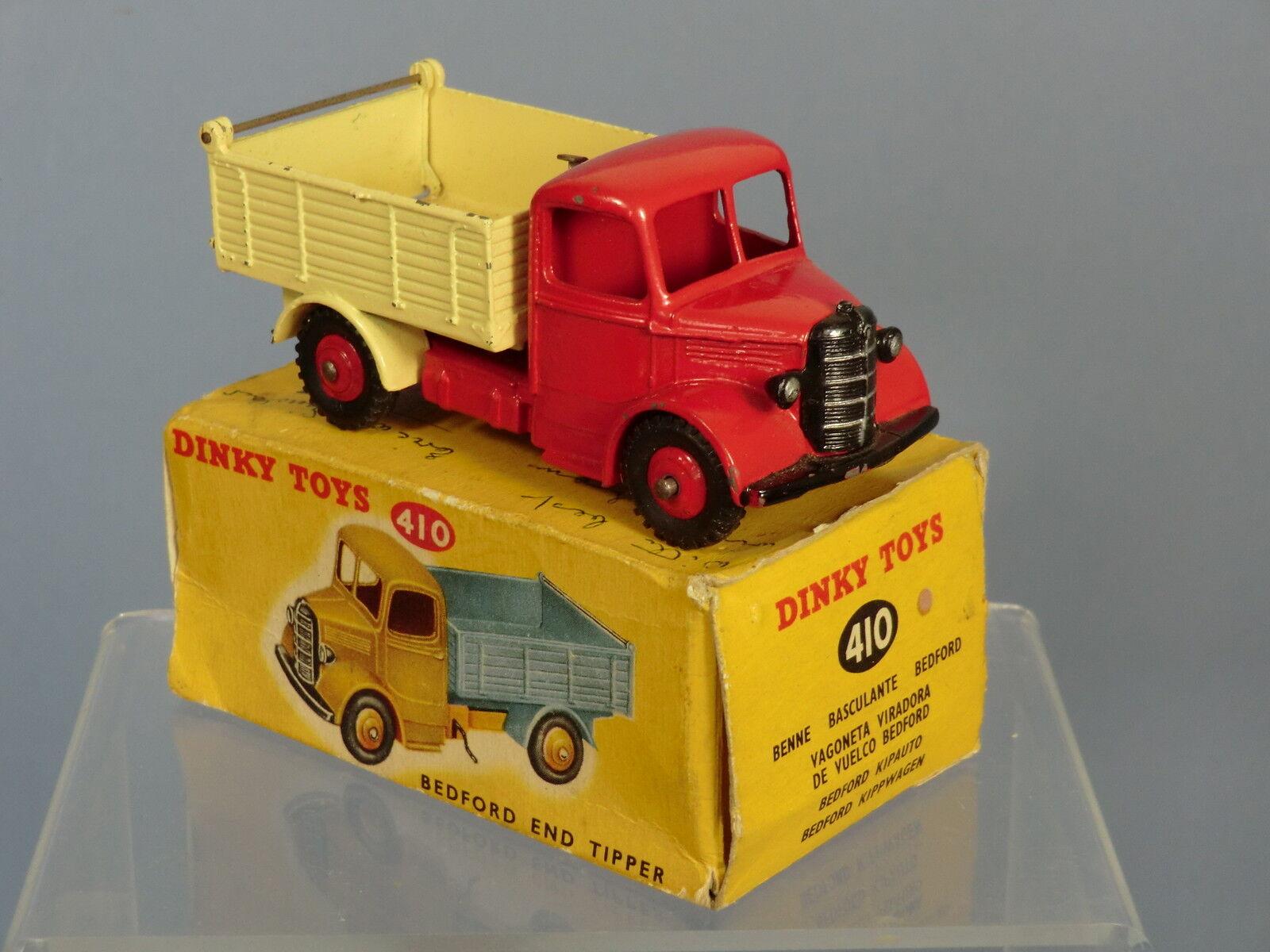 DINKY TOYS TOYS TOYS modello No.410 BEDFORD fine Ribaltamento Camion VN Nuovo di zecca con scatola 21de1d