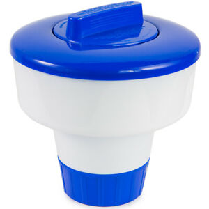 "Pool Spa 1"" or 3"" Chlorine Bromine Chemical Tablet Tabs Floater / Dispenser"