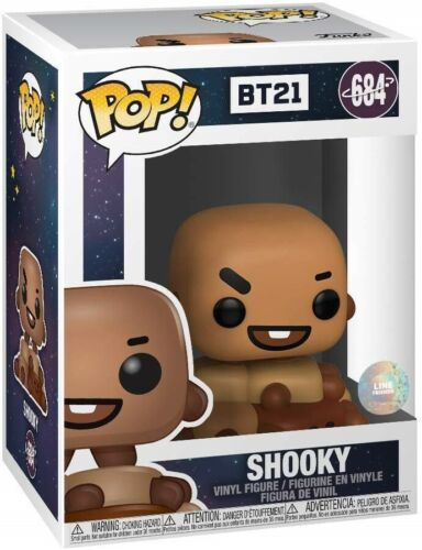Shooky Brand New In Box POP Animation BT21 Funko
