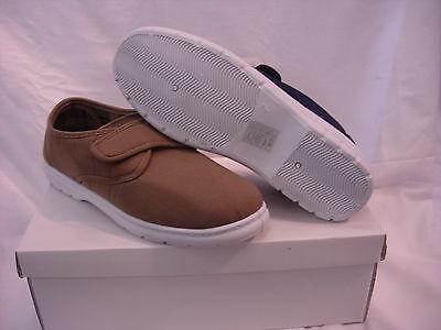Gancho de lona de algodón para hombre Luz/Loop 6 7 8 9 10 11 12 Touch amplia Cubierta Zapatos Náuticos