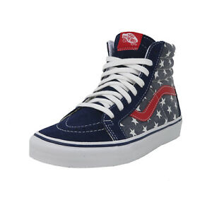 7de85e9829 VANS SK8-Hi Reissue Van Doren Stars   Stripes Navy Red Patriot ...