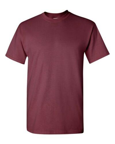 Gildan Heavy 100/% Cotton Mens Bulk Plain Adult T-Shirt Tee 5000