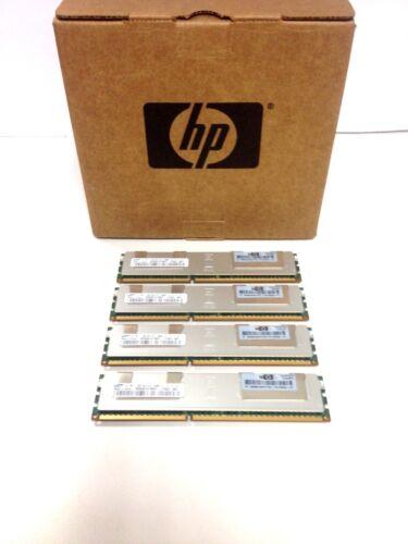 LOT OF 4 2RX4 PC3-8500R MEMORY 500206-071 519201-001 1X8GB 516423-B21 HP 8GB