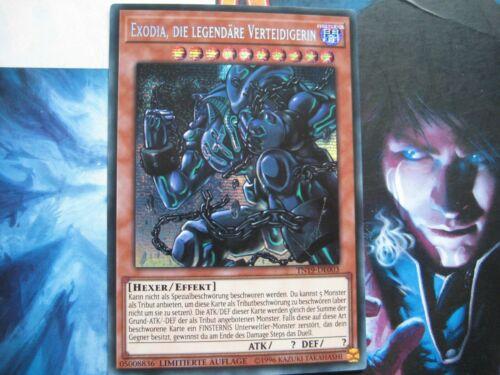 die legendäre Verteidigerin TN19-DE003 Secret Rare Lim Auflage Yu-Gi-Oh Exodia