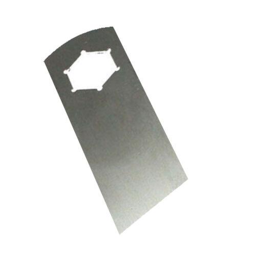 18 Vertikutier Edelstahl Messer für KV-15 E 35V Vertikutierer