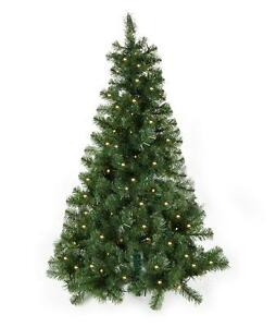 Image Is Loading 4ft Pre Lit Wall Half Christmas Tree Light