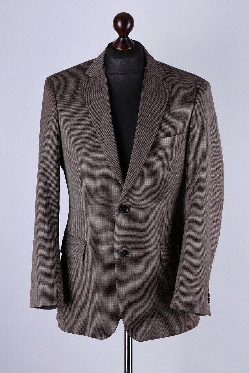 Hugo Boss Pasini 2 Laine Blazer veste Taille M UK36 EU46 IT46