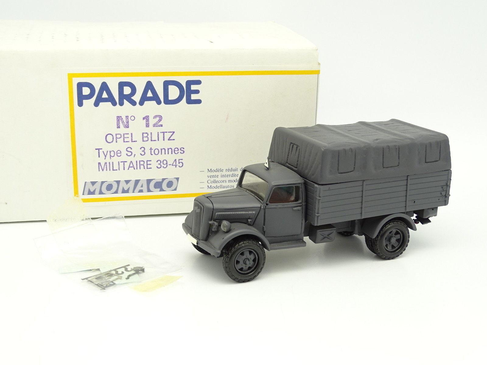 Parade Militaire Armée 1/50 Opel Blitz Type S 3T 3T 3T 39-45 | Matériaux Soigneusement Sélectionnés  001160