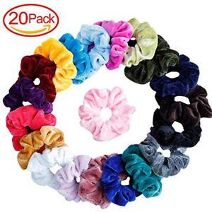 9-20PCS-Women-Girls-Scrunchy-Hair-Ties-Scrunchie-Scrunchies-Accessories-Velvet