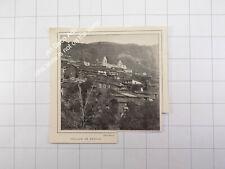 1912 Sardegna , il villaggio di Desulo , Sardaigne / Sardinia