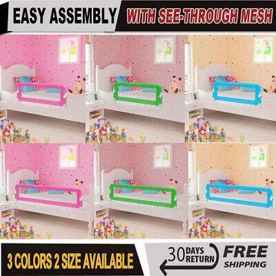 Baby Safety Bed Rail Kid Guard Toddler Bedroom Sleeping ...