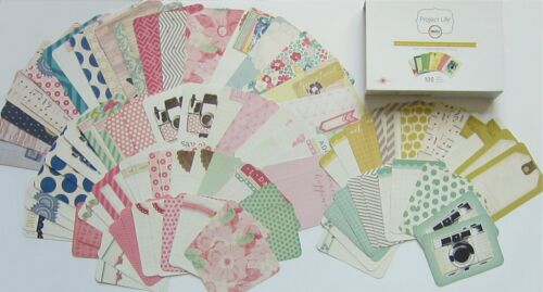 """MAGGIE HOLMES New 100 cards mini kit PROJECT LIFE /""""Becky Higgins/"""" Save 35/%"""