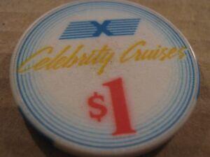 Vintage Seminole Hard Rock Hotel /& Casino  Hollywood FL Florida $1 Casino Chip