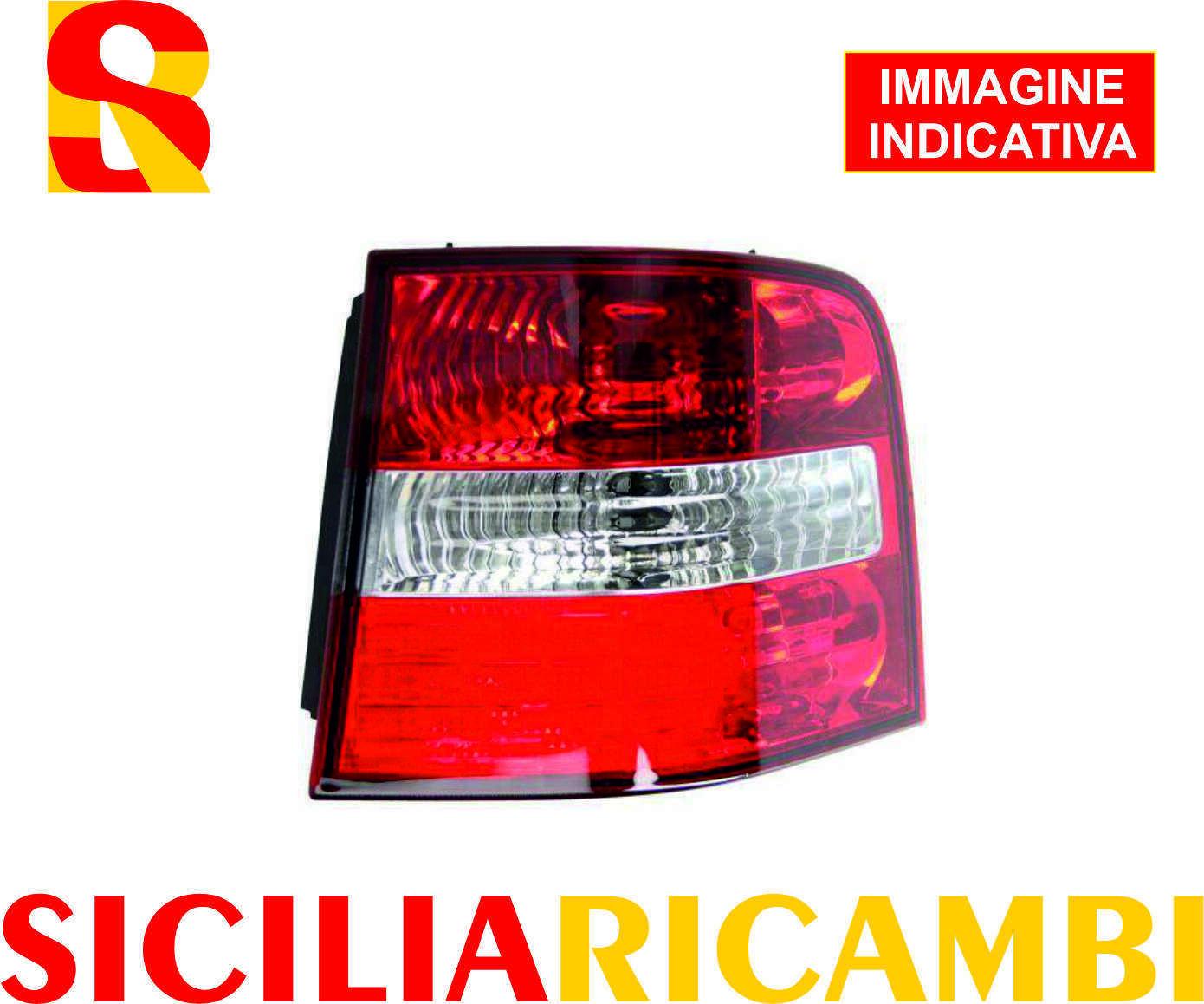 Magneti Marelli 714028190801 Fanale Posteriore Esterno Destro