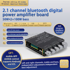 Tpa3116d2 Bluetooth 50 21 Channel Power Audio Stereo Subwoofer Amplifier Board