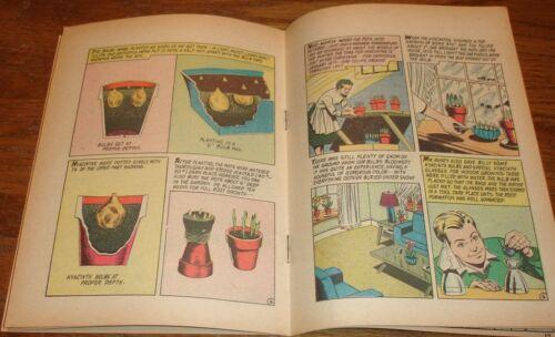 BULB MAGIC 1956 RARE GIVEAWAY PROMO MINI COMIC HOLLAND ASSOCIATED GROWERS TULIPS