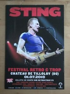 Flyer-STING-POLICE-french-Tour-2018