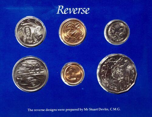 Australia 1984 Uncirculated Mint Coin Set