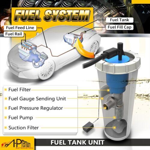 Fuel Pump Assembly w//Pressure Sensor for 99-02 Chevy Camaro Firebird 5.7L E3368M