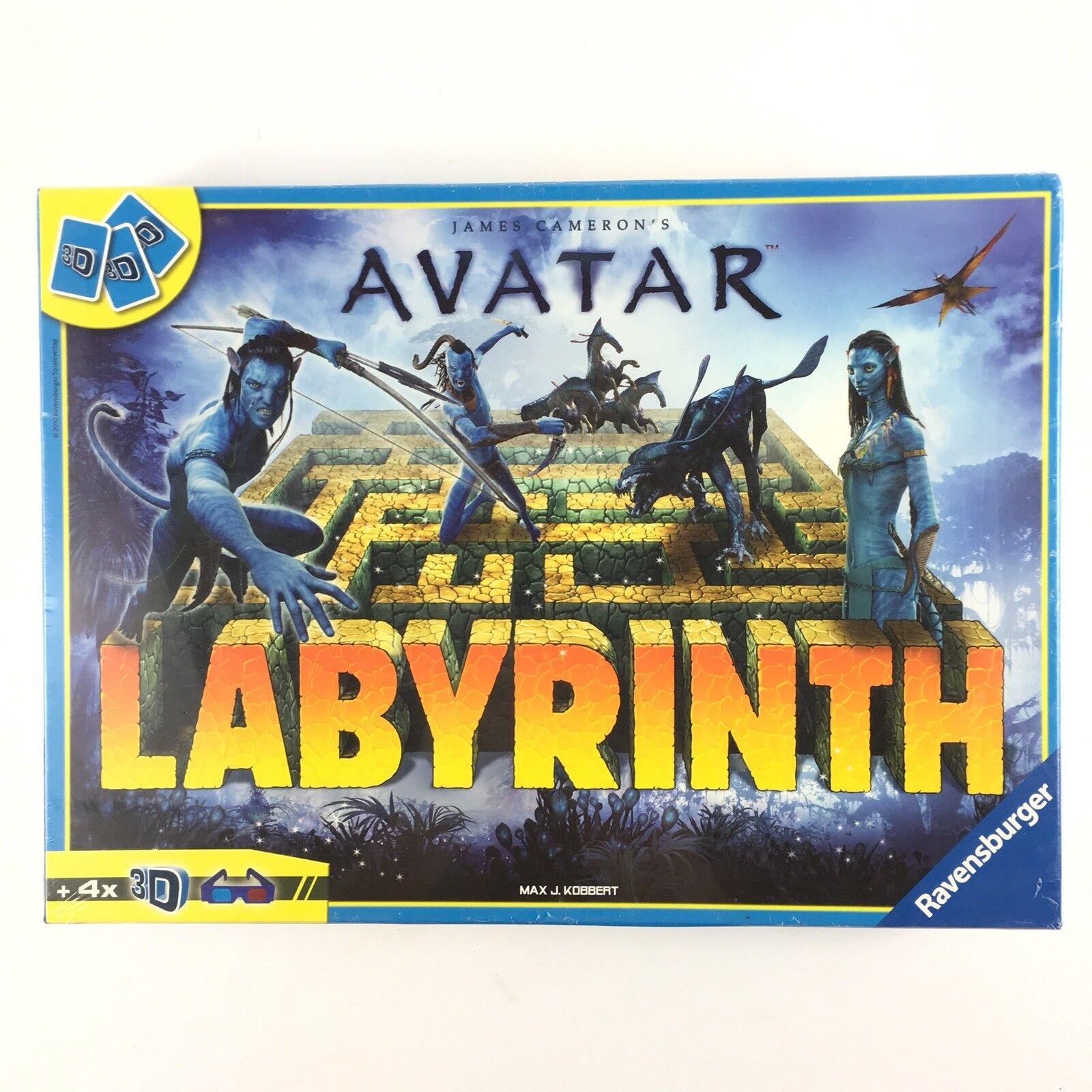 Avatar Labyrinth 3D Board Game Ravensburger New Sealed