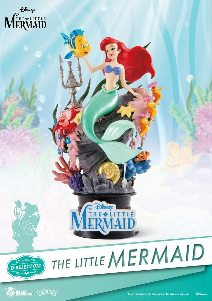 Ariel the Mermaid Beast Kingdom PVC Diorama 15 15 15 cm New (L) 91ef0a