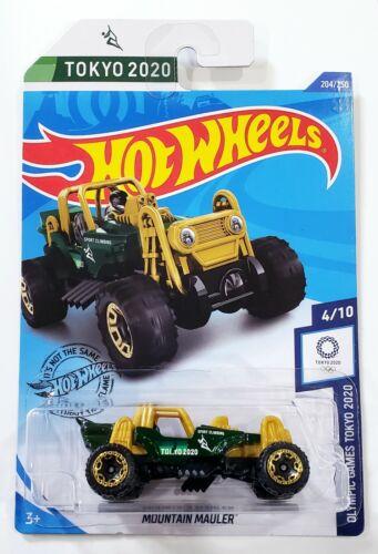 Green Hot Wheels Tokyo 2020 Mountain Mauler 204//250