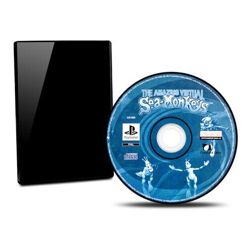 Playstation 1 - Ps1 Spiel Sea Monkeys / Sea - Monkeys ohne Ovp ohne Anleitung #B