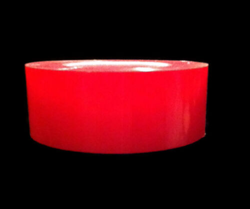 """Double sided tape 36 yd rolls of 2/"""" Red liner doublesided tacky tape"""